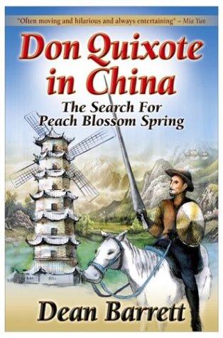 book cover of Don Quixote in China