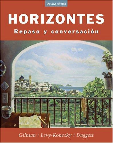 Horizontes:Repaso Y Conversacion