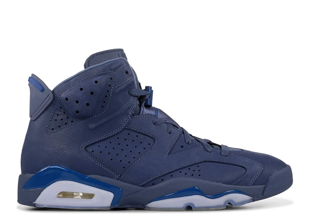 new concept 4ffa7 d42f6 Amazon.com   Nike Air Jordan 6 Retro  384664-400  Men Casual Shoes Jimmy  Butler Diffused Blue US 8.0   Basketball