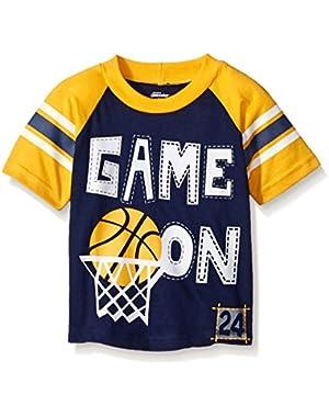 Gerber Graduates Baby Boys' Short Sleeve Raglan T-Shirt