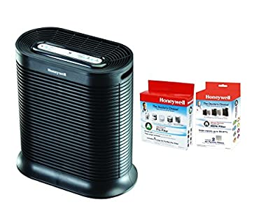 Honeywell HPA200 True HEPA Allergen Remover Air Purifier, 310 sq. ft. W/ HRF-R2 and HRF-AP1