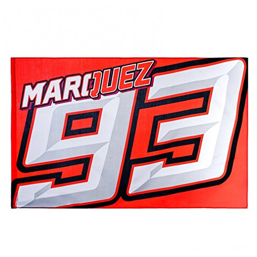 Marc Marquez 93 Moto GP Logo Flag Red Official 2018 by Marc Marquez