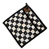 MacKenzie-Childs Courtly Check Bistro Pot Holder Protects Hands From The Heat