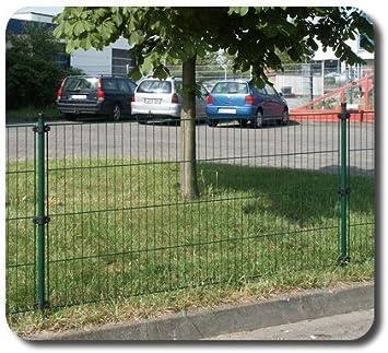 Tor zum Maschendrahtzaun GR/ÜN H/öhe 150m//Breite 400 cm