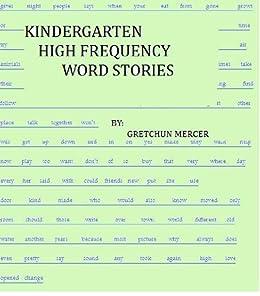 51E19Vw0n8L. SX260  - Kindergarten High Frequency Words