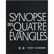 Synopse des quatre evangiles en francais