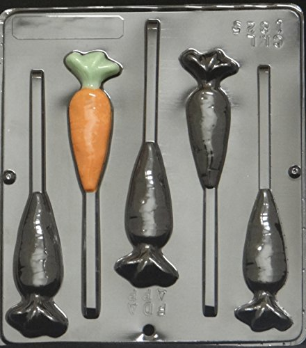 - Carrot Lollipop Chocolate Candy Mold Easter 1825