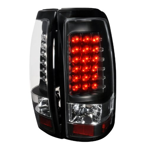 Jdm Black Led Tail Lights