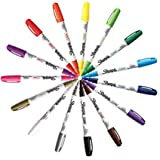 Sharpie Paint Marker Fine Point Oil Based All 15 Color Set 3-Pack