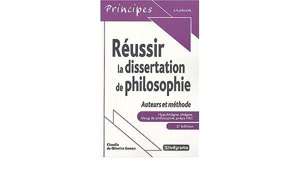 dissertation de philosophie hypokhagne