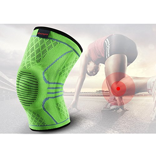 7888d49176 Kuangmi Knee Brace Compression Sleeve Sports Support Brace Pad - Import It  All