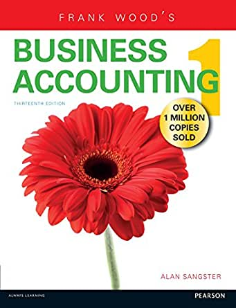 Business accounting frank wood alan sangster
