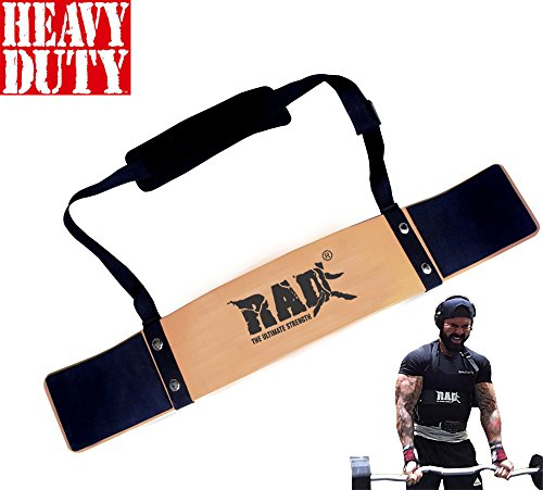 RAD Arm Blaster Body Building Bomber Bicep Curl Triceps Muscle Builder (Gold)