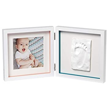 BabyArt Print Frame Bilderrahmen für einen Hand /& Fußabdruck Farbe Stormy