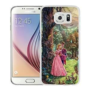 New Unique Custom Designed Case With Thomas Kinkade Sleeping Beauty White For Samsung Galaxy S7 Phone Case