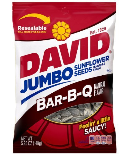 David Sunflower Barbeque Flavor 5 25 Ounce