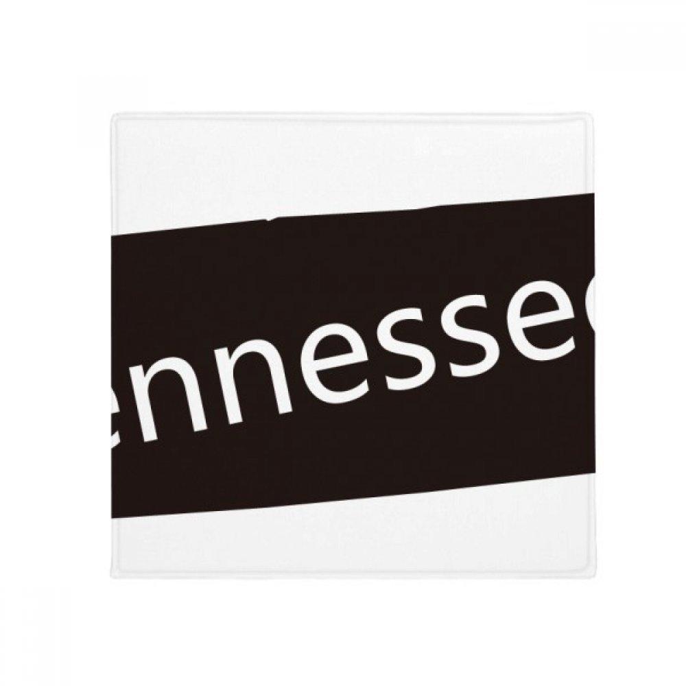 DIYthinker Tennessee USA Map Silhouette Anti-Slip Floor Pet Mat Square Home Kitchen Door 80Cm Gift