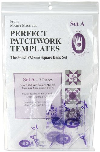 Marti Michell Perfect Patchwork Template-Set A - 3