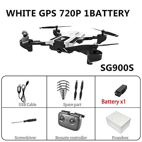 Tianzly GPS WiFi RC Drone con cámara Dual 4K HD Sígueme Quad ...
