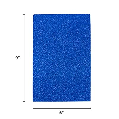 Horizon Group USA, 10 Adhesive Glitter Foam Sheets 6