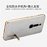 Huawei Mate RS(Porsche Design) Case,DAYJOY Luxury Premium Aluminum Metal Shockproof bumper with Genuine Real Carbon fiber Back Cover and kickstand for Huawei Mate RS