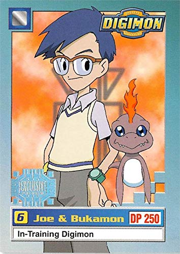 Bukamon Joe trading card Digimon 1999 Upper Deck #9
