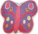 LA Rug Butterfly 35-by-39-Inch Nylon Area Rug