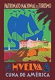 Buyenlarge Huelva Cuna De America by Romero Diaz Jara Wall Decal, 48'' H x 32'' W