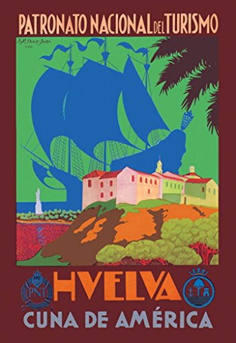 Buyenlarge Huelva Cuna De America by Romero Diaz Jara Wall Decal, 48'' H x 32'' W by Buyenlarge