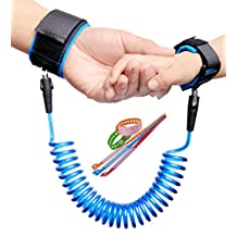 Child Anti Lost Wrist Link Baby Safety Harness Strap Kids Rope Leash Walking Hand Belt (1.8M , Blue) (Blue)