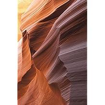 Carnet de Notes: Petit journal personnel de 121 pages blanches avec couverture « Antelope Canyon - Canyon de l'Antilope »