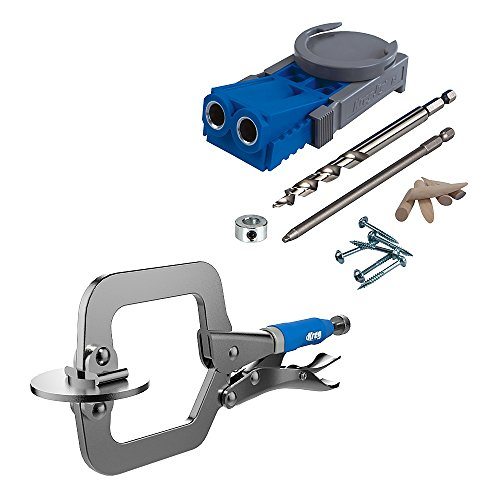 R3-Promo Kreg R3 Jig Pocket Hole Kit With Free Classic Clamp Pack-In ()