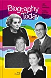 Biography Today, Annual Cumulation 1997, Cherie D. Abbey, Laurie Lanzen Harris, 0780802764