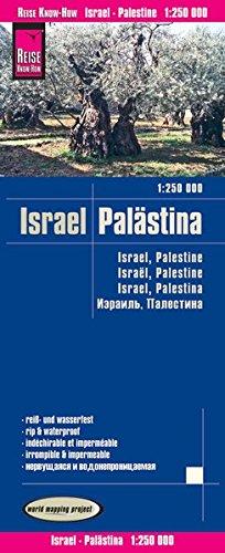 Israel and Palestine 2018 (Anglais) Carte – Carte pliée, 22 mai 2018 Reise Know-How Verlag GmbH 3831772681 Palästina Gazetteers & Maps)