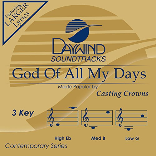 God Of All My Days [Accompaniment/Performance Track]