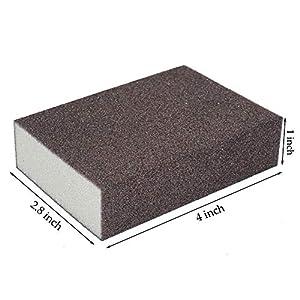 Sanding Sponge,Coarse/Medium/Fine/Superfine 4 Different Specifications Sanding Blocks Assortment,Washable and Reusable.