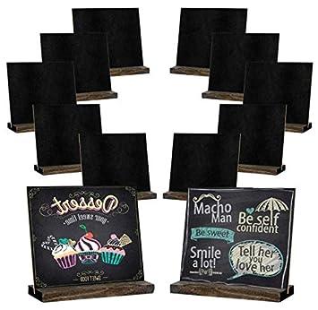 Amazon.com: Mini carteles de pizarra, 5 x 6 pulgadas Vintage ...