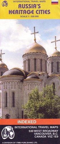 Read Online Russia's Heritage Cities 1:500,000 Travel Map (International Travel Maps) pdf epub