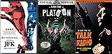 Freedom, War and Politics Oliver Stone Collection - Talk Radio, JFK (Director's Cut) & Platoon (Special Edition) 3-DVD Bundle