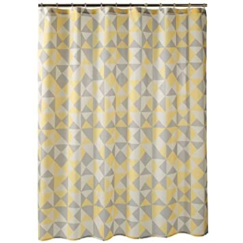 Curtains Ideas apt 9 shower curtain : Amazon.com: Apt. 9 Optica Geometric Fabric Shower Curtain: Home ...