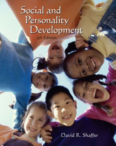 Social and Personality Development (with InfoTrac)