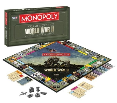 【メーカー再生品】 Monopoly Together World - War II Monopoly - We Are All In This Together [並行輸入品] B017JYYZAK, サシママチ:25615c4c --- arianechie.dominiotemporario.com