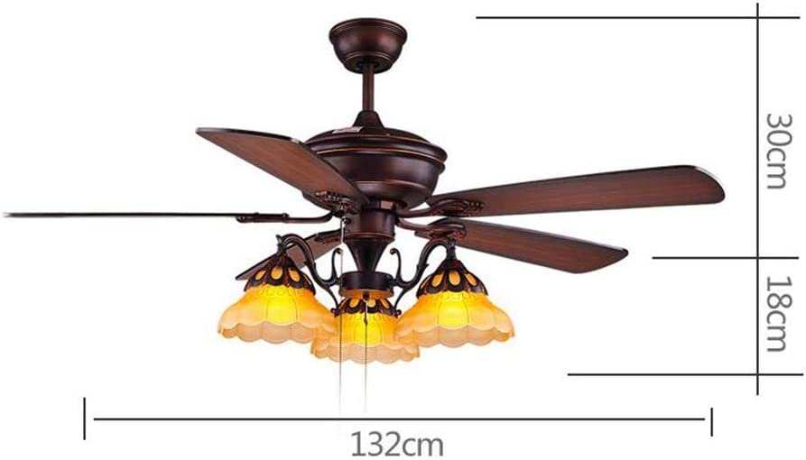 Shirley Home Lámparas de araña Araña de ventilador de restaurante ...