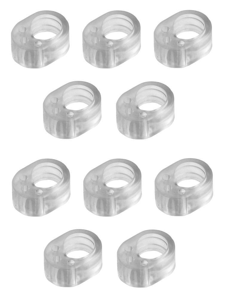 f77e3803a30 10 Pack de silenciadores para puerta transparentes.  Amazon.es  Hogar