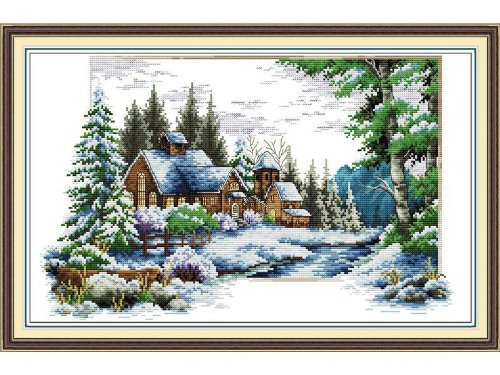 Happy Forever Cross Stitch, The scenery of the - Stitch Cross Scenery