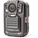 PatrolEyes 1296P HD 32GB GPS Auto IR Night Vision Police Body Camera DV5 2