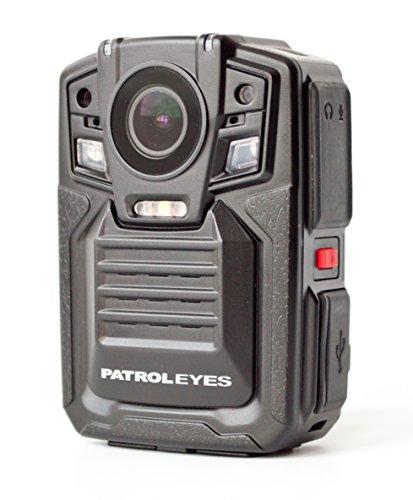 - PatrolEyes 1296P HD 32GB GPS Auto IR Night Vision Police Body Camera DV5 2