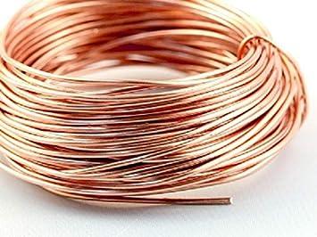 Draht 750 metri 5 mm senza vernice non rivestito Cu 99 filo per bricolage 2 Filo di rame Blank /Ø 0,1