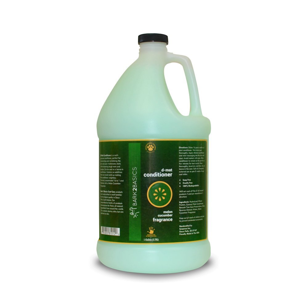 Bark 2 Basics D-Mat Conditioner, 1 Gallon
