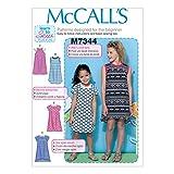 McCall's Patterns M7344 Children's/Girls' Raglan